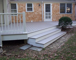 Procell Decking with Composite Railings